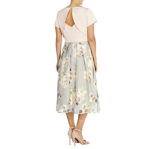 Buy Coast Brea Floral Stripe Dress Pink Multi Online At