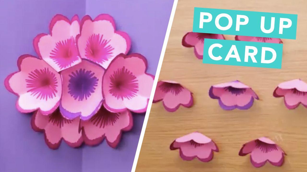 Create your own diy flower pop up card contagious crafts create your own diy flower pop up card mightylinksfo