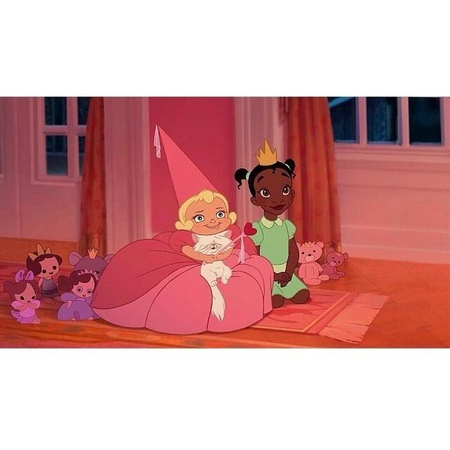 Little Lottie and Tiana <3 (please comment If this helped)