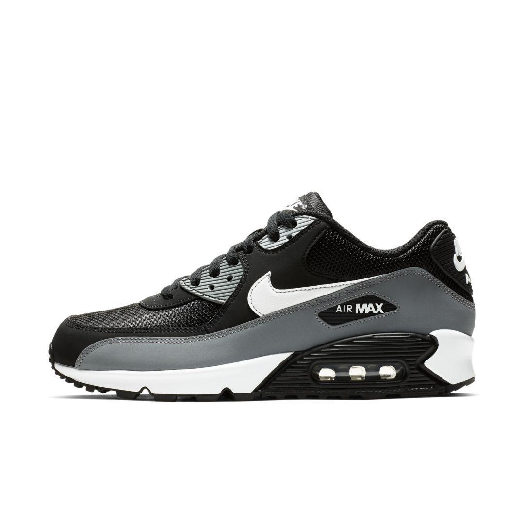 air max 90 essential black/white-cool grey