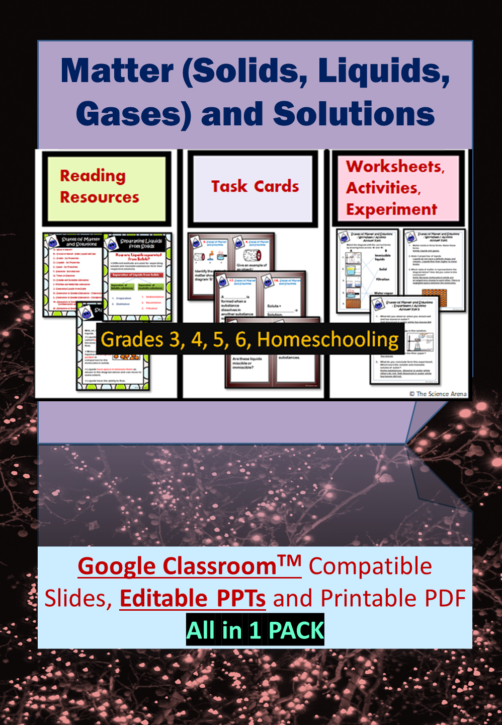 States Of Matter Their Properties And Solutions Teaching Resources For Grades 3 4 Science Teaching Resources Teachers Pay Teachers Seller Teaching Resources [ 1440 x 998 Pixel ]