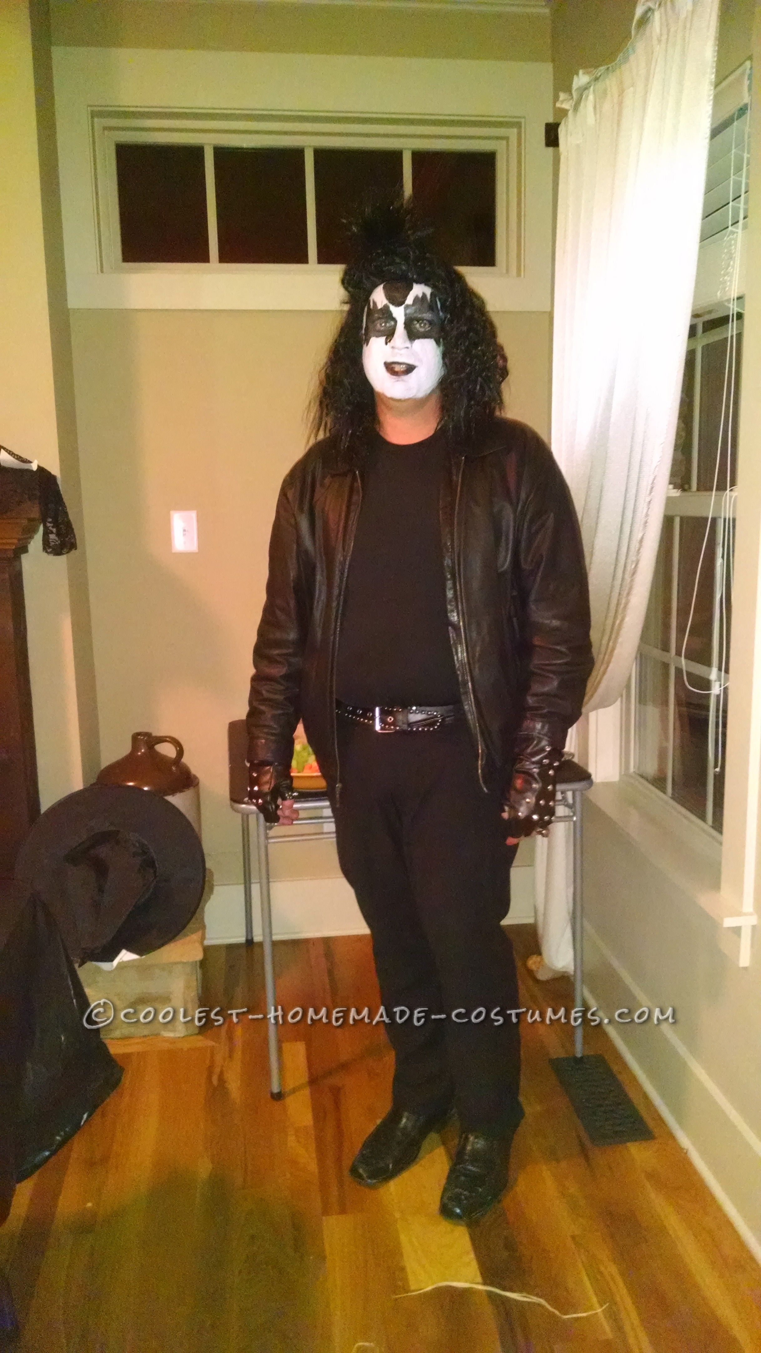 Coolest Homemade Gene Simmons and Paul Stanley of KISS Costumes ...