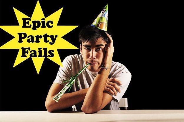 Top 5 Most Epic Party Fails Ever - http://bzfd.it/14l8x6r #PartyFails #EpicFAIL