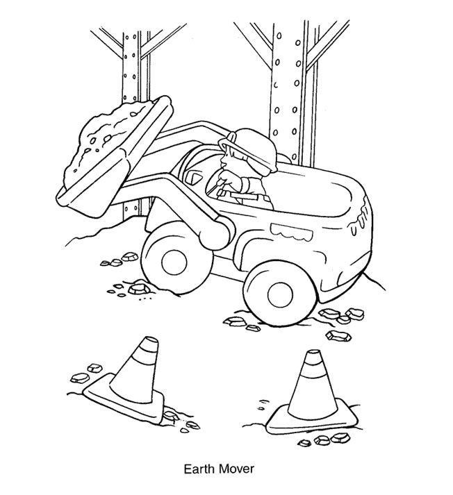 Little people coloring pages