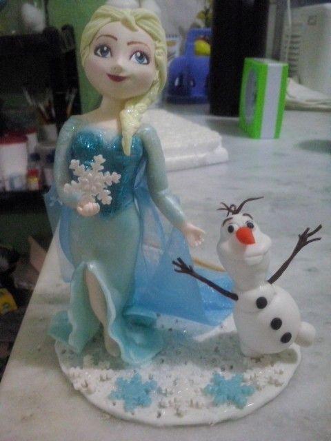 Minha primeira Elsa para uma pessoa muito especial!
