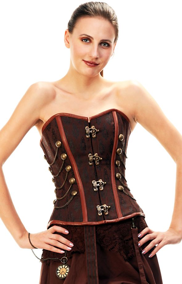 ac2ff03c732 more latched corset closures   Steampunk Clothing Hats from Cloak Dagger  Creations