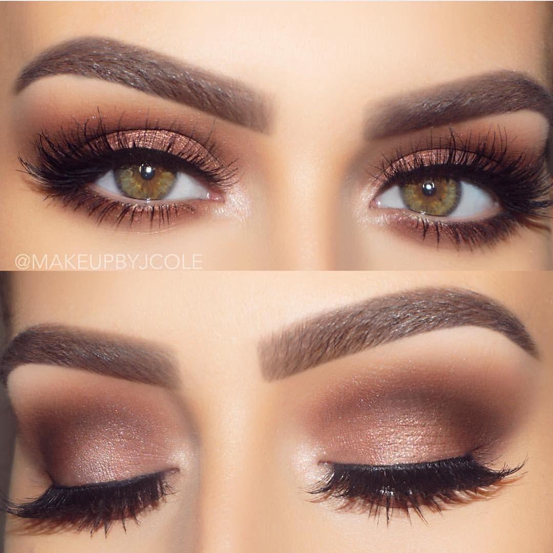 soft glam @makeupbyjcole 💞 | beauty in 2019 | hazel eye