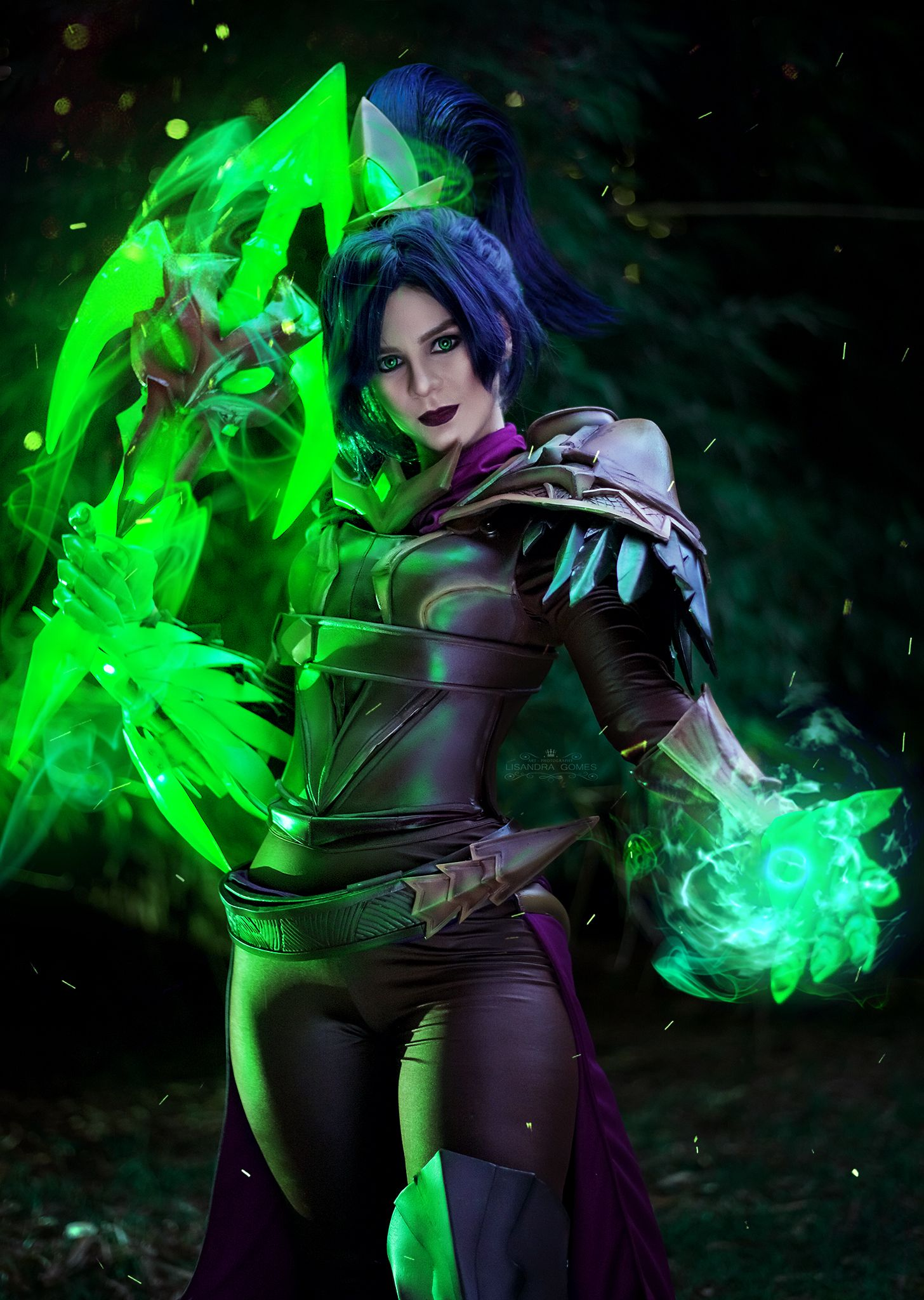 Soulstealer Vayne From League Of Legends Lol Leagueoflegends Vayne Soulstealervayne Gosu League Of Legends Cosplay Photo And Video