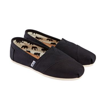 Costco: TOMS® Ladies' Alpargata Classic Slip-On Shoe - Black