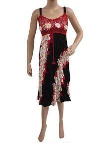 Hippie Dresses, Red Dresses, Bohemian Dresses
