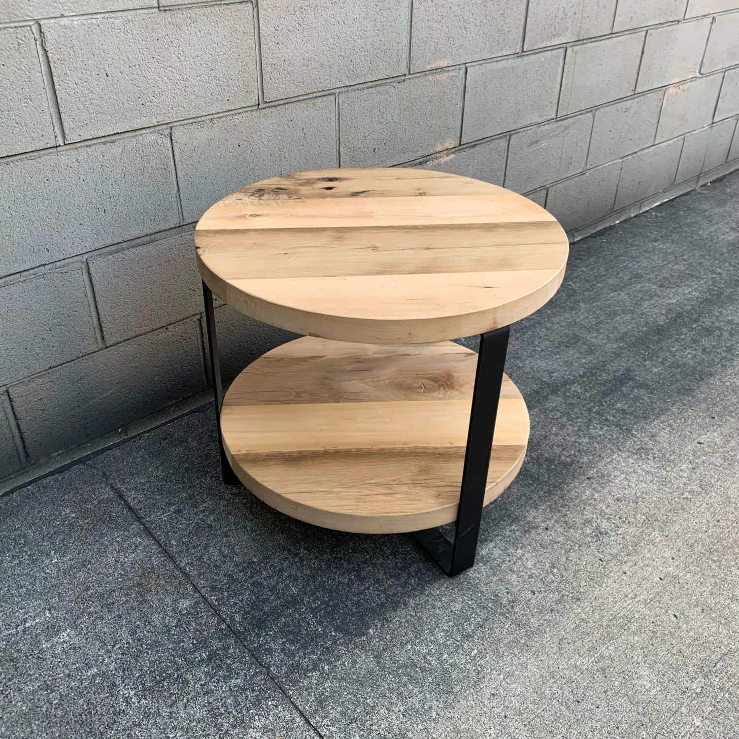 Barnwood Round End Table Coffee Table Night Stand Side Table Etsy Reclaimed Barn Wood Wood Sofa Barn Wood [ 1500 x 1500 Pixel ]