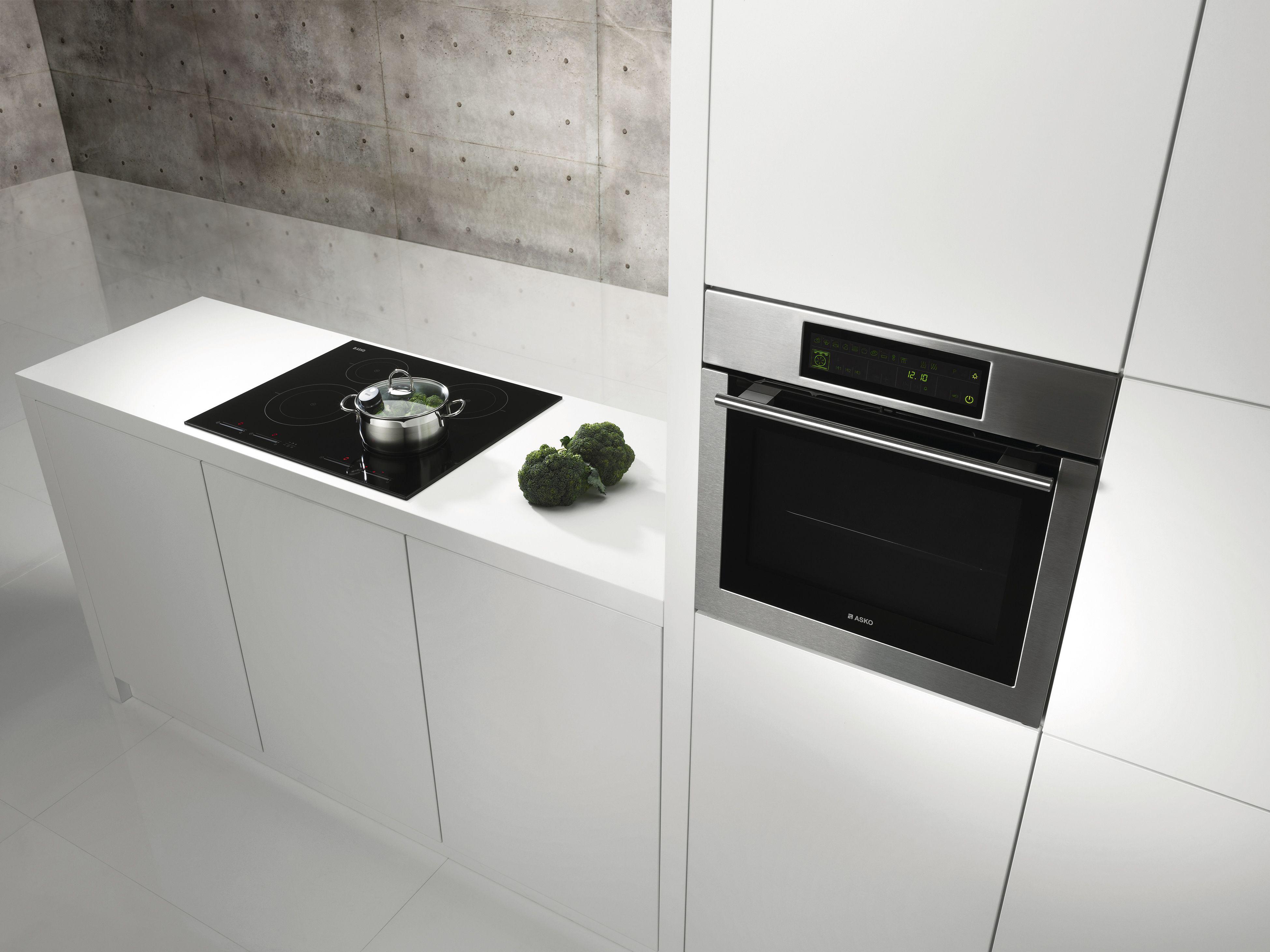 ASKO HI1774 IQCook Induction Cooktop And OP8621 Oven