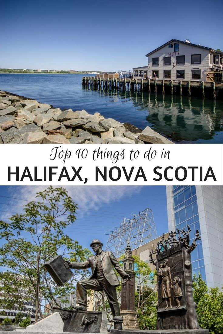 top 10 things to do in halifax, nova scotia | peggy's cove | nova