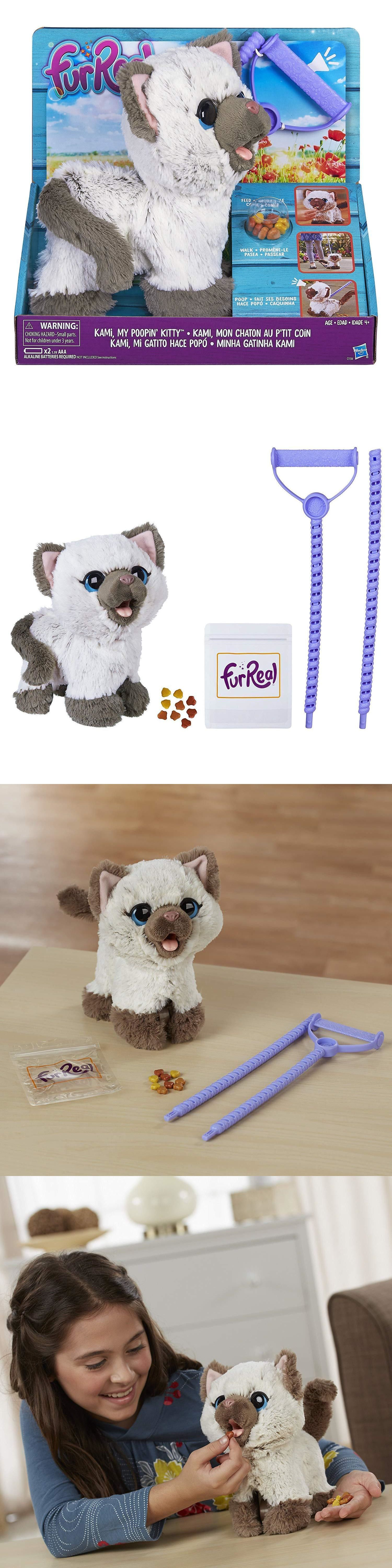 Furreal Friends Kami My Poopin Kitty Toy 630509514052 Ebay Fur Real Friends Cat Toys Kitty