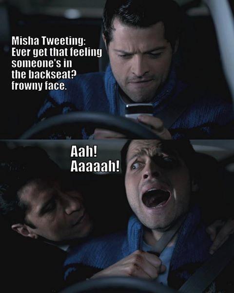 Pin By Keshet Harley On Supernatural Supernatural Funny Frowny Face Misha Collins
