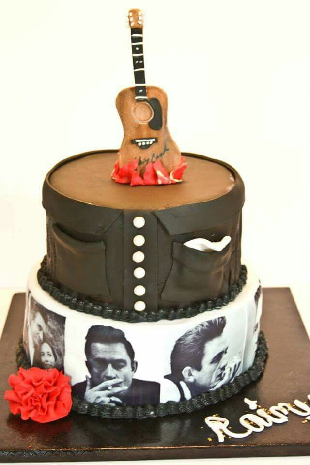 Johnny Cash Cake From Southern Bee Cupcakes Httpstouchfacebook