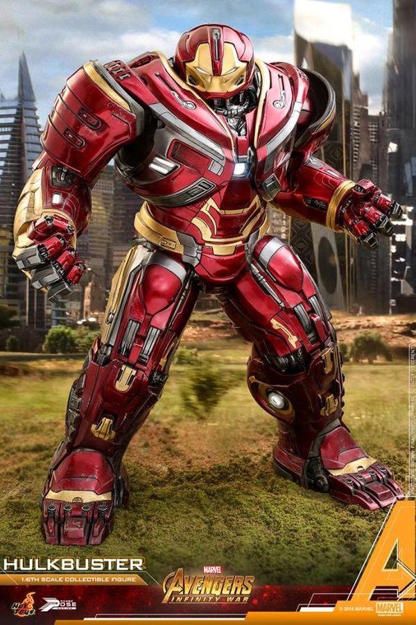 Hot Toys Avengers: Infinity War 1:6 Power Pose Hulkbuster