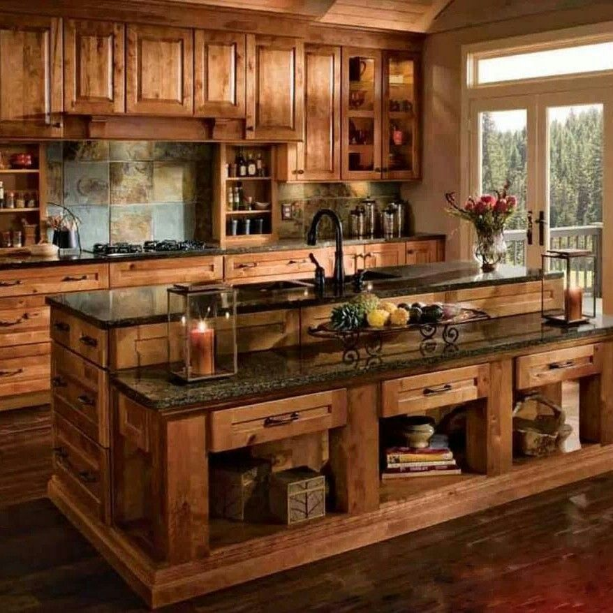 Awesome Kitchen Rustic Kitchen Rustic Kitchen Design Rustic Kitchen Cabinets