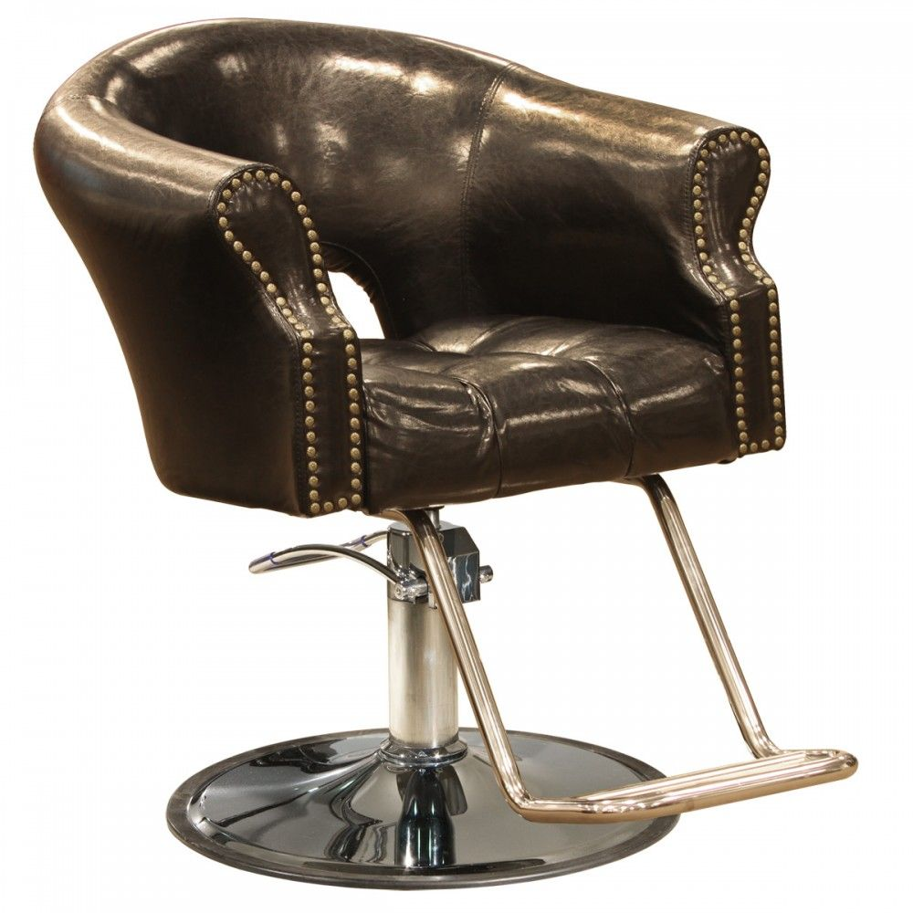 Arnage Styling Chair in Antique Black - Arnage Styling Chair In Antique Black Salon WiShes & Shampoo