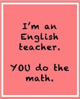 Funny english teacher posters information