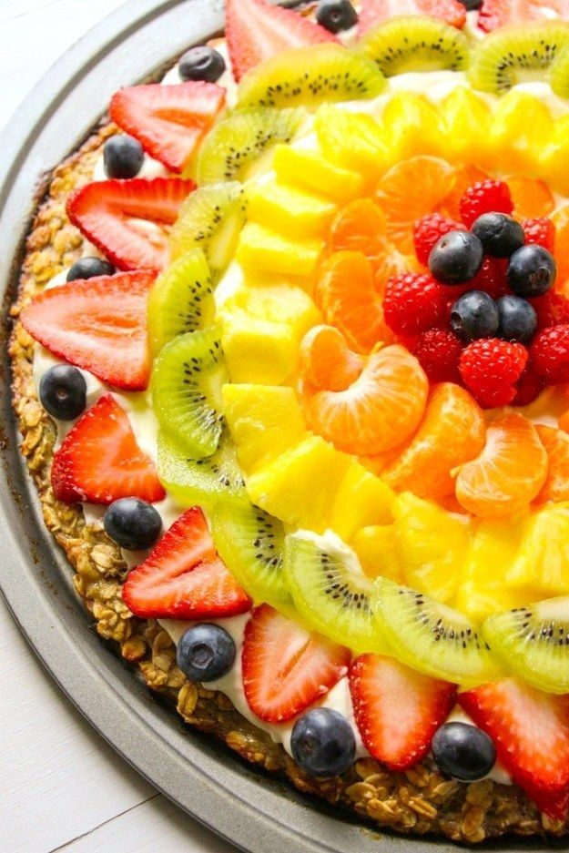 Fruit Pizza | 23 Whole-Grain Desserts You'll Actually Love