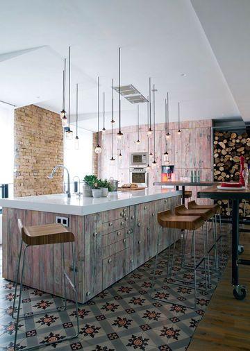 Aménager un loft  l\u0027exemple du designer Carlos Pujol Planche de