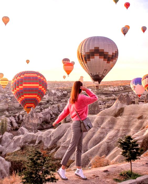 cappadocia kapadokya balloons in 2020 Cappadocia, Hot