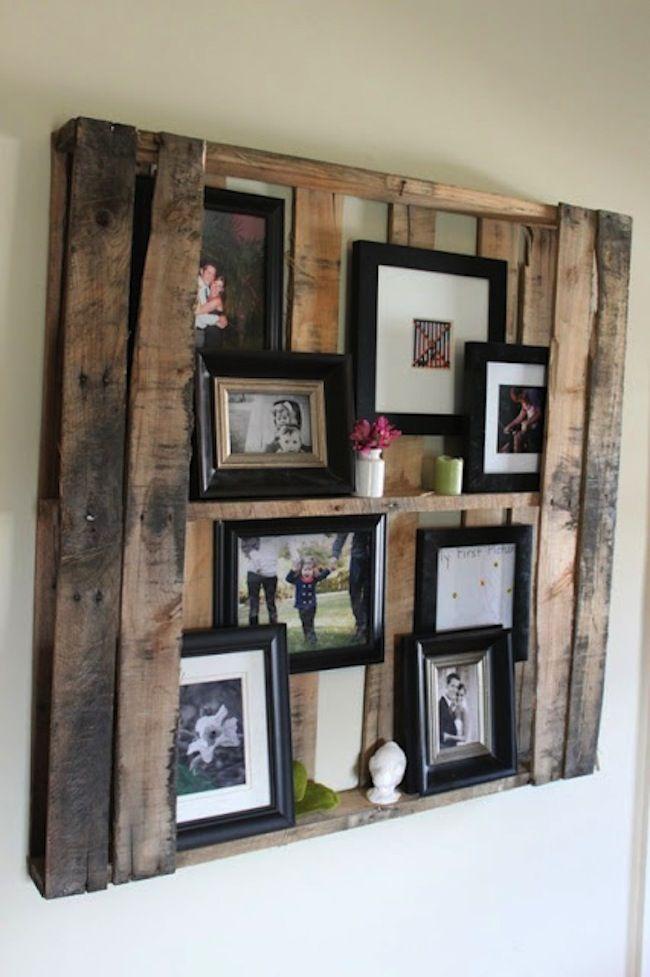 Reciclando el ingenio, buena idea para decorar tus paredes con tus ...