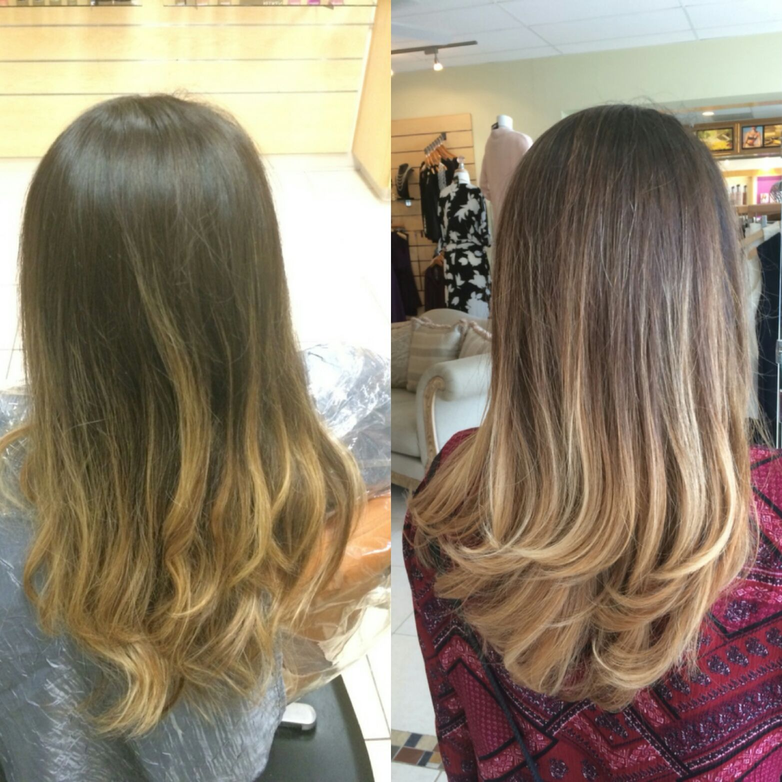 Free Painting Refreshed Hair Color Naturallook Freepainting