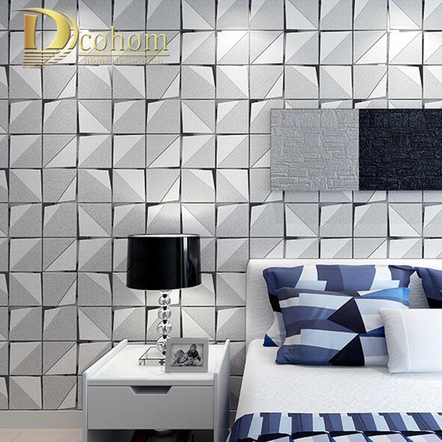 Buy Fashion Modern 3D Wallpaper For Walls Bedroom Living Room Sofa ...