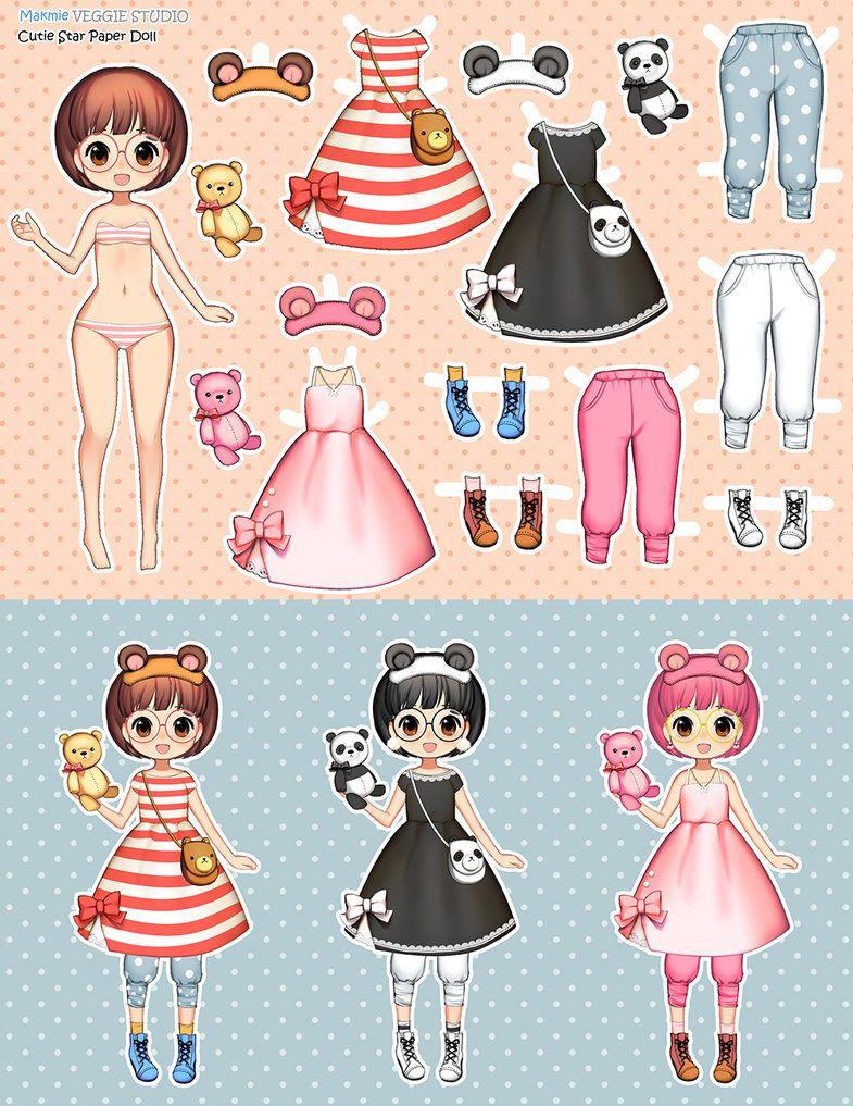 paper doll by VeggieStudio.deviantart.com on @DeviantArt | dress the ...