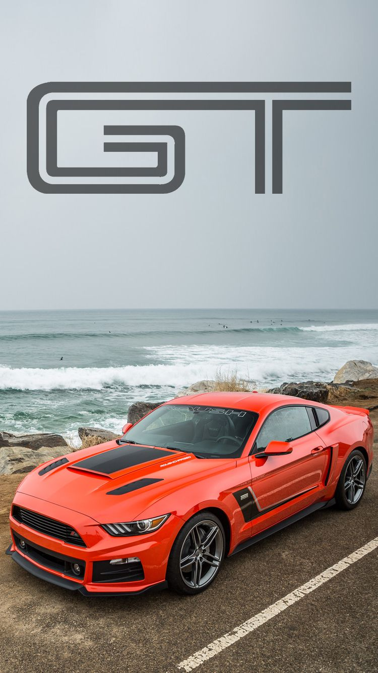 Roush Ford Mustang  Universal Phone Wallpapers Backgrounds Super Car Sports Car Ford Mustang  Iphone Htc Samsung Sony Lg