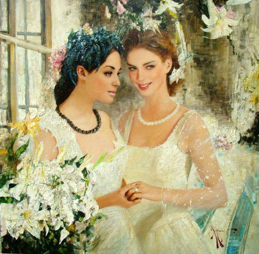 МЫ - из СССР! — Женщины Руси в живописи. Фото без подписи ...