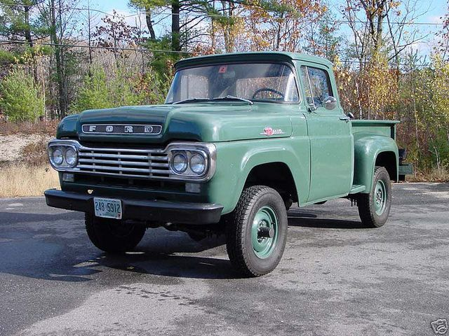 1959 Ford F 100 Stepside 4x4 Pick Up Truck By Hartog Via Flickr