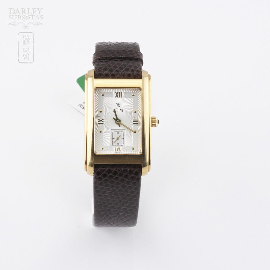 #Subasta de #reloj de Caballero de la marca #Dogma, mod. 477. Lote 28801970.  http://bit.ly/1pWZwML