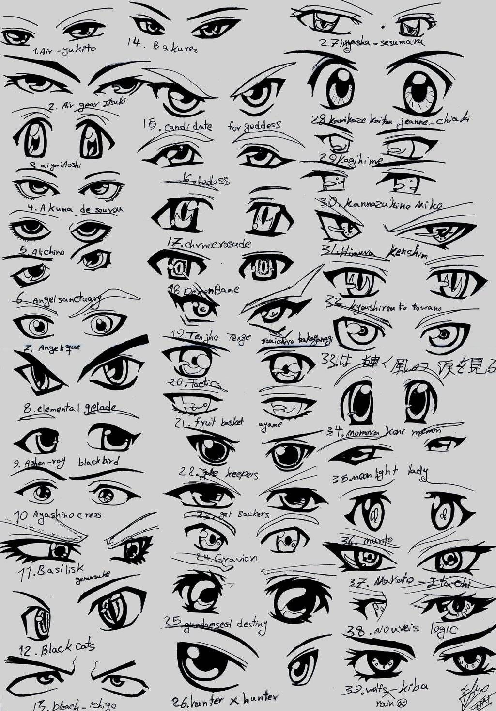 How To Draw Male Anime Eyes Widescreen 2 HD Wallpapers 눈