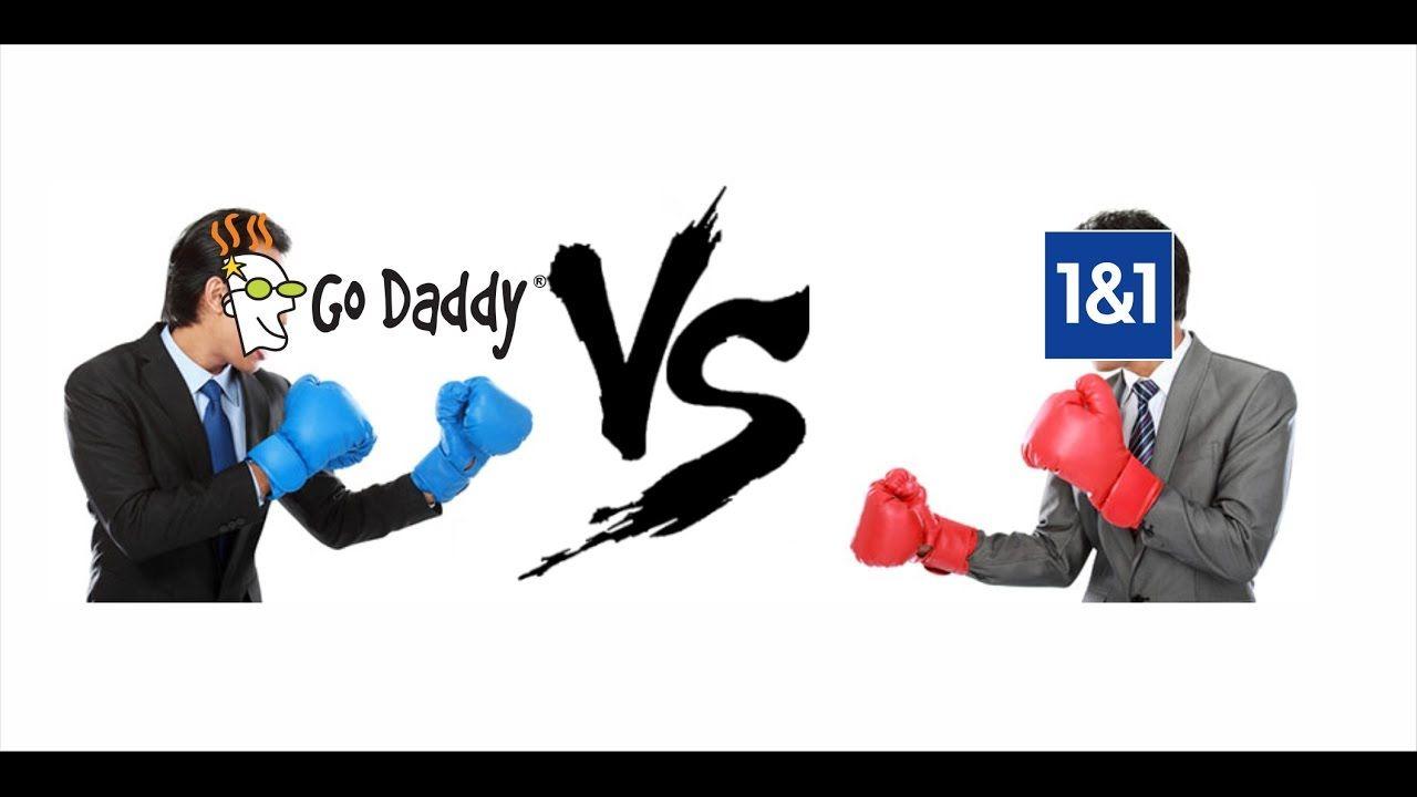 News Videos & more Domínios grátis Godaddy VS 1&1