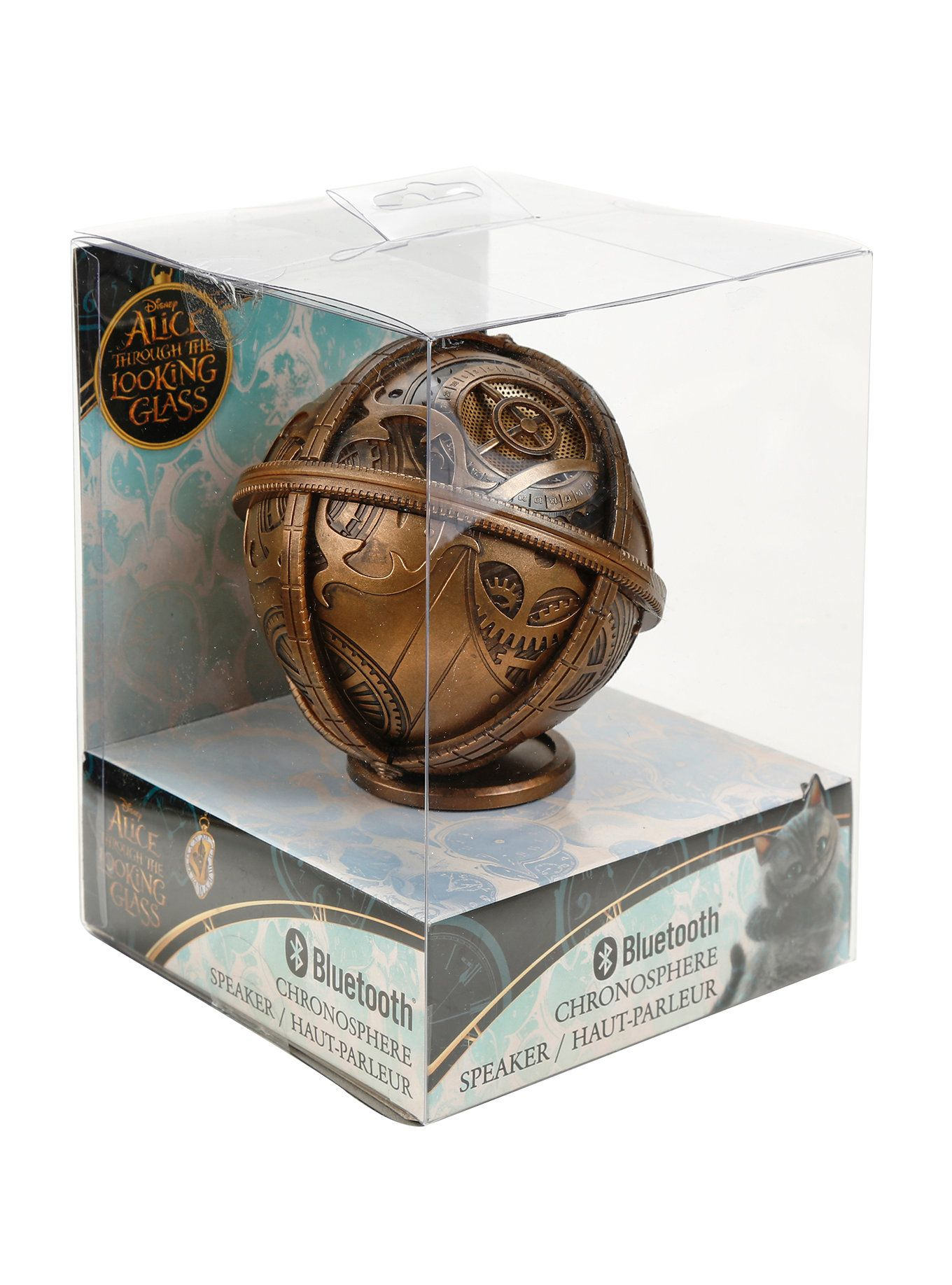 Disney Alice Through The Looking Glass Chronosphere Bluetooth Speaker Hot Topic Through The Looking Glass Disney Alice Alice In Wonderland Steampunk