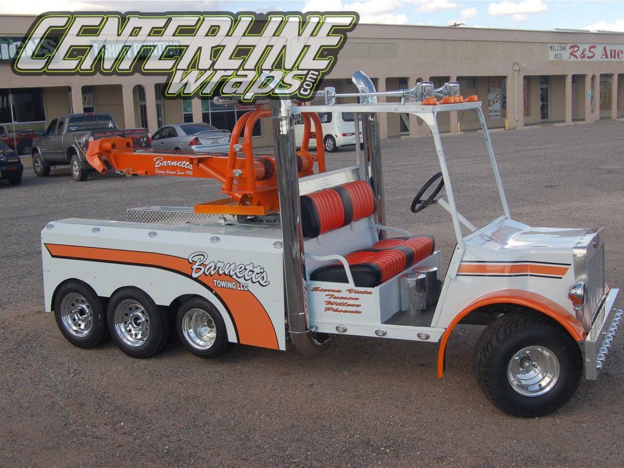 Pin by US Trailer Rental & Storage on custom big rig | Golf