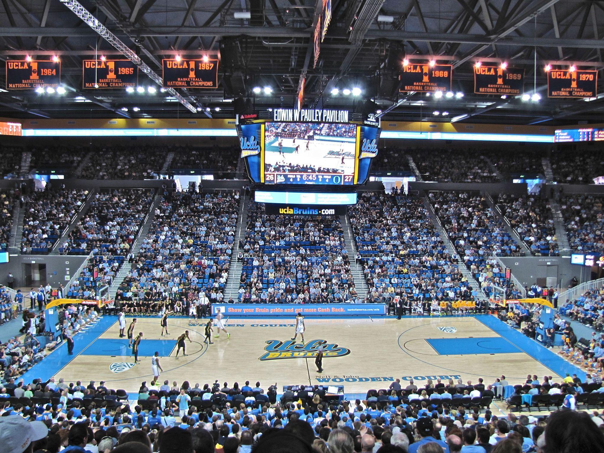 Pauley Pavilion Ucla Bruins Basketball Canvas Wrap 20 X16 X1 5 Ucla Bruins Basketball Basketball Canvas Ucla Bruins
