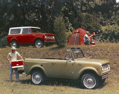 Camping With The International Scout International Scout