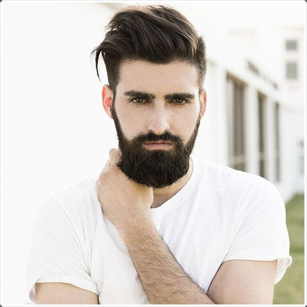 A Beard This Dark Looks Amazing On Fair Skin But Also Looks Good On Dark Complexions Beard Styles For Teenagers Beard Styles Best Beard Styles