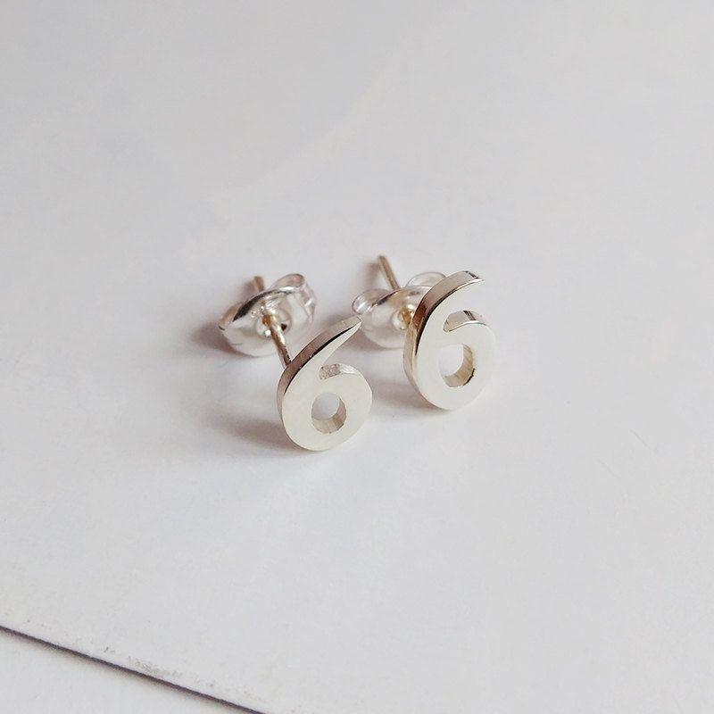 28++ Sterling silver initial earrings personalized jewelry ideas