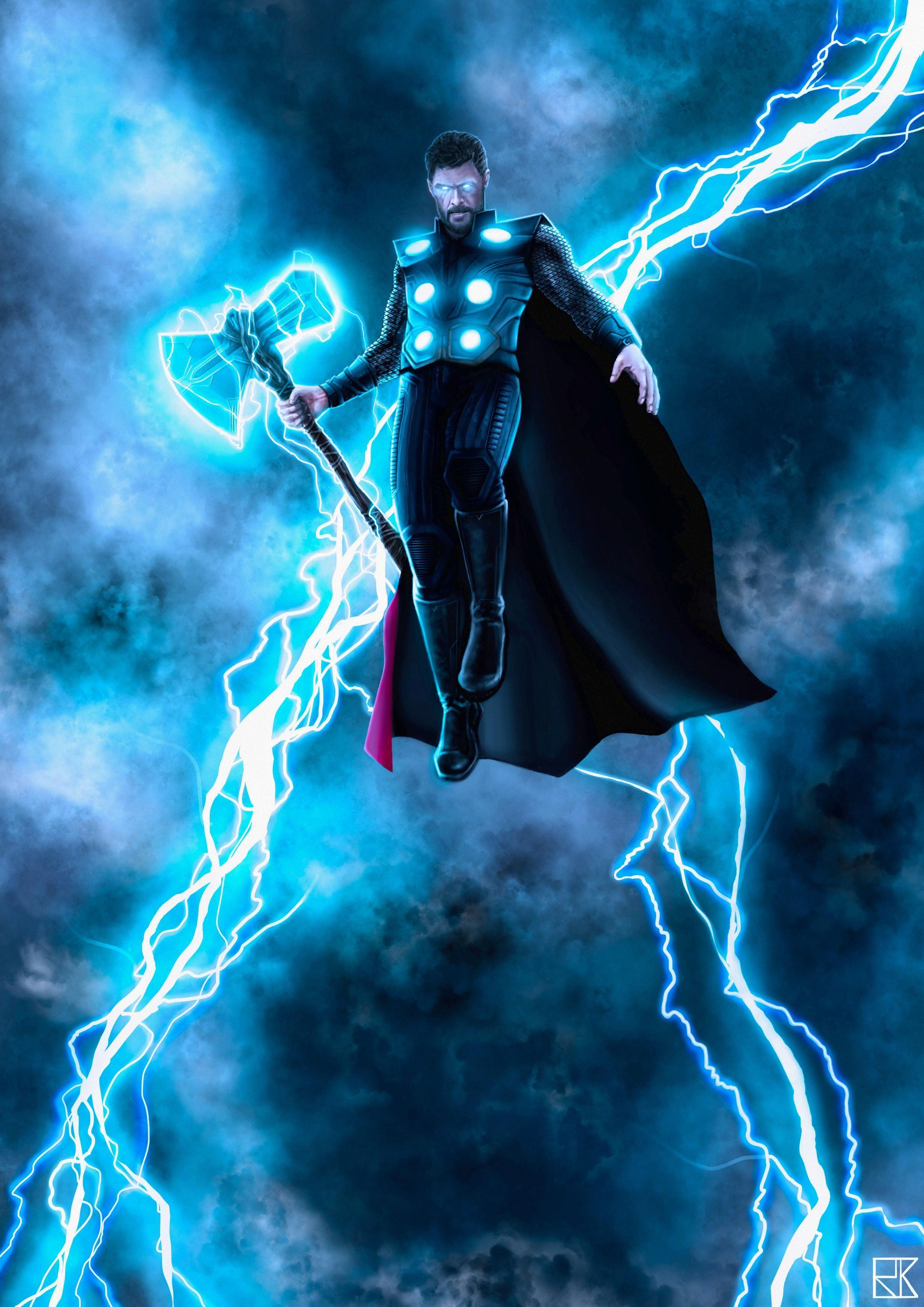 Thor Wallpaper Dengan Gambar Pahlawan Marvel Pahlawan Super