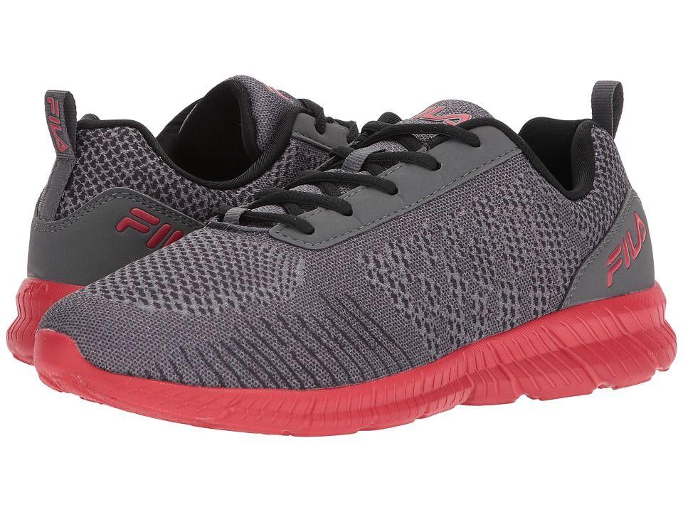 V Shoes Fila Memory Knitcastlerockblackfila RedMen's uT1JKc3lF