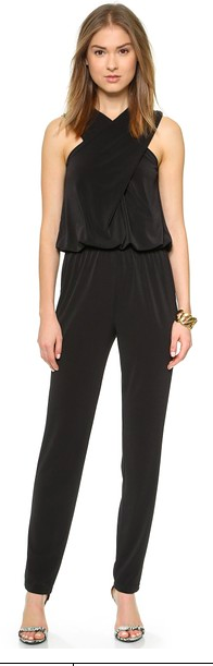 This Cross Front Jumpsuit Is Really Adorable From Rachel Zoe