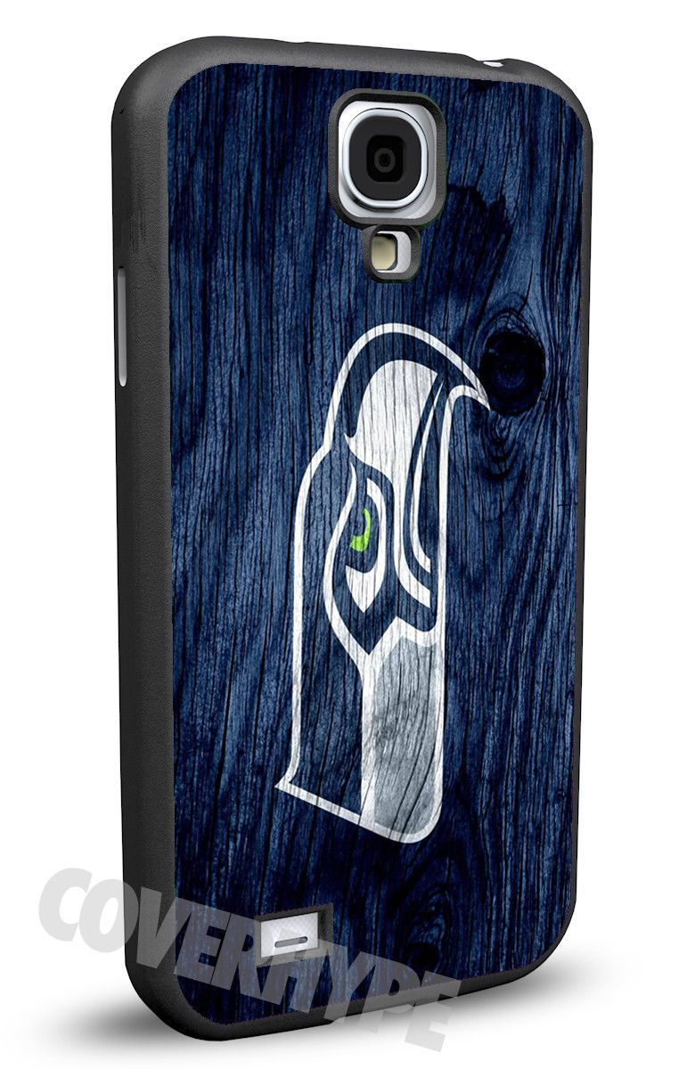 Seattle Seahawks Cell Phone Hard Case for Samsung Galaxy S5, Samsung Galaxy S4 or Samsung Galaxy S4 Mini