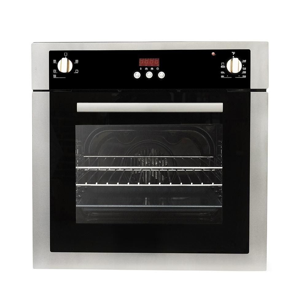 Cosmo 24 In 2 Cu Ft Single Electric Wall Oven With 5 Functions