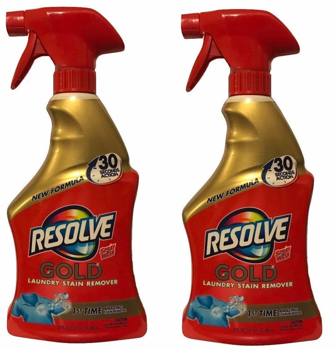 Bleaches And Stain Removers 172208 Resolve Gold Pre Treat Laundry