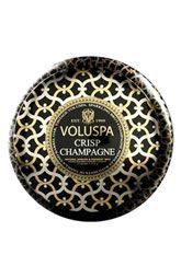 Voluspa 'Maison Noir - Crisp Champagne' Two-Wick Candle